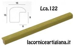 LCA.122 CORNICE 25X30 BOMBERINO VERDE OPACO CON VETRO