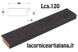 LCA.120 CORNICE 20X30 PIATTINA WENGE' OPACO CON VETRO