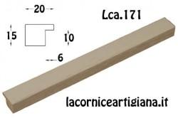 LCA.171 CORNICE 17,6X25 B5 PIATTINA AVORIO OPACO CON VETRO