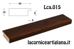LCA.015 CORNICE 35X50 PIATTINA NOCE GRAFFIATA CON CRILEX