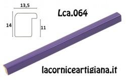 LCA.064 CORNICE 50X50 BOMBERINO VIOLA LUCIDO CON CRILEX