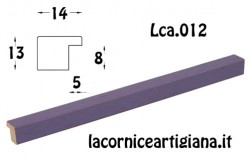 LCA.012 CORNICE 35X50 PIATTINA VIOLA OPACO CON CRILEX