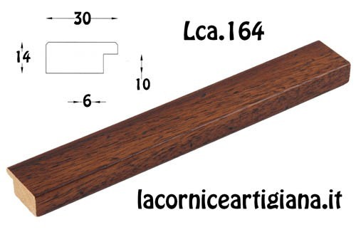 LCA.164 CORNICE 42X59,4 A2 PIATTINA NOCE TARLATA CON CRILEX