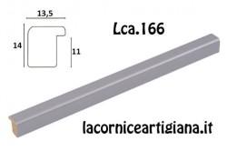 LCA.166 CORNICE 30X80 BOMBERINO METAL OPACO CON CRILEX