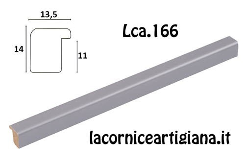 LCA.166 CORNICE 13X19 BOMBERINO METAL OPACO CON VETRO