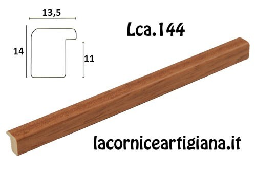 LCA.144 CORNICE 14,8X21 A5 BOMBERINO MIELE OPACO CON VETRO