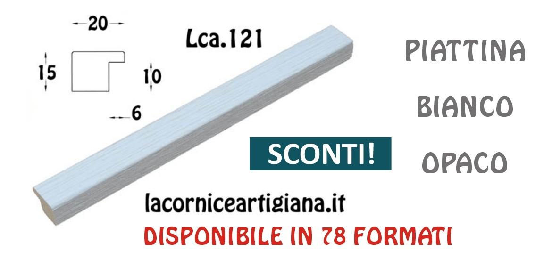 PIATTINA BIANCO OPACO LCA.121