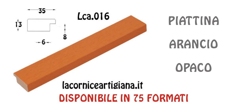 PIATTINA ARANCIO OPACO LCA.016